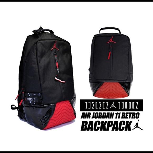 Jordanretro 1 Backpack Bred